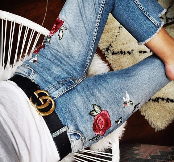 Just wanna be Like Her style★IT Belt with Double G buckle