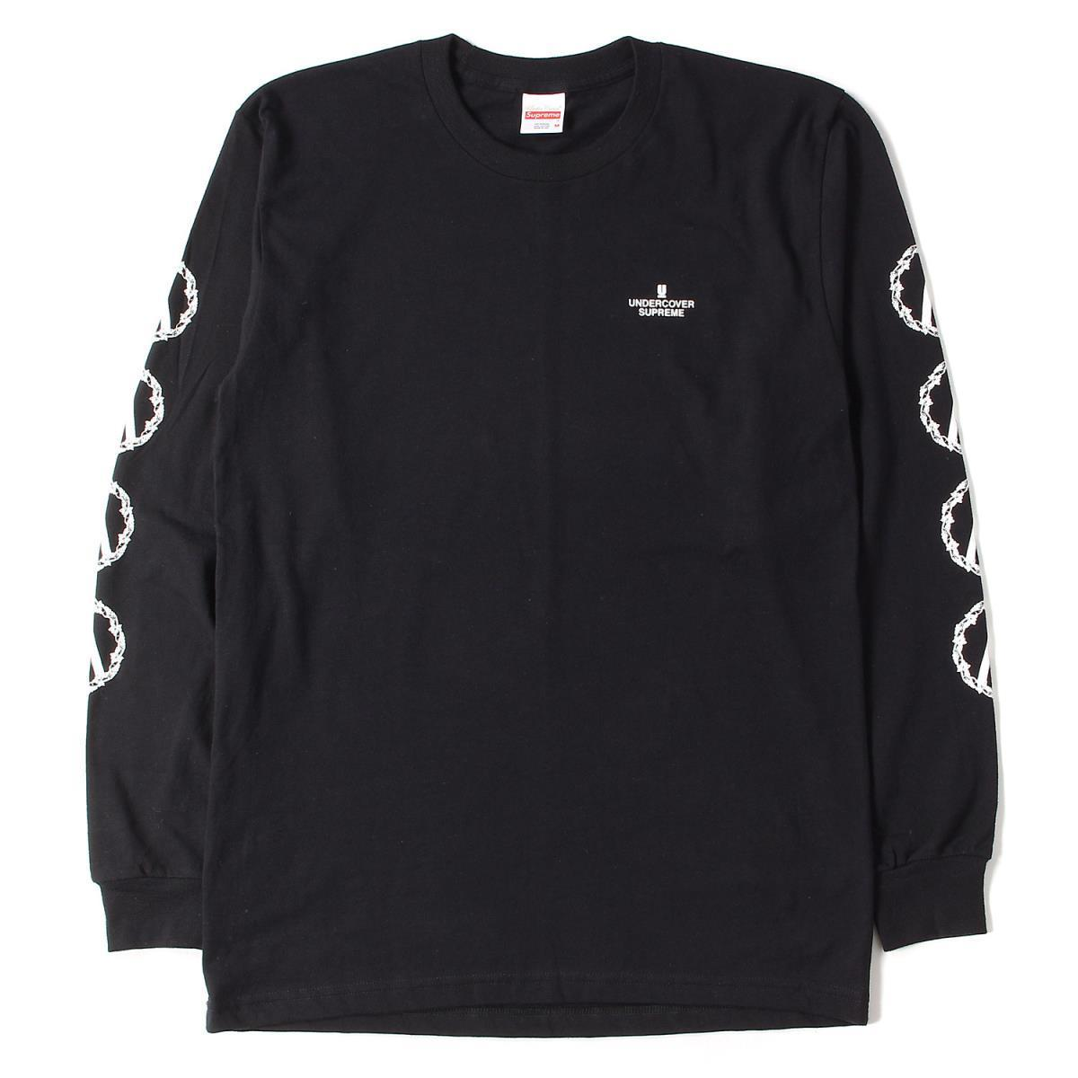 Supreme × UNDERCOVER Anarchy L/S Tee 黒 Size MEDIUM