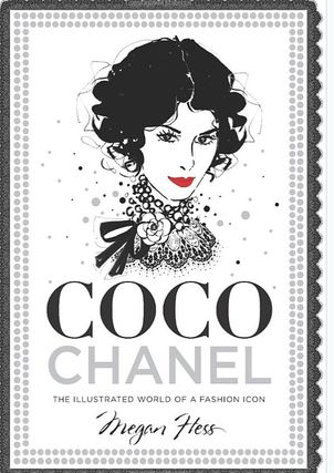 Iconic Chanel Coco Chanel hard cover 208 pages fashion