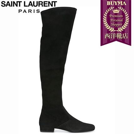 16/17秋冬入荷!┃SAINT LAURENT┃OVER-THE-KNEE BOOTS┃1157172