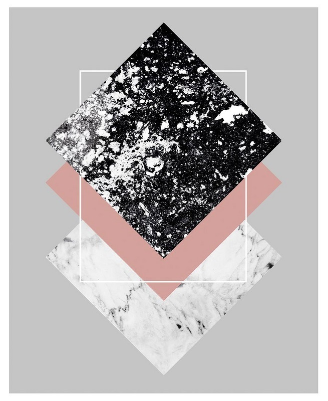 ◆JUNIQE◆Geometric Textures 1 ブランケットBy Mareike Bohmer