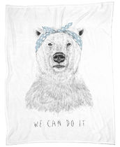 ◆JUNIQE◆We can do it デザインブランケット By Balazs Solti