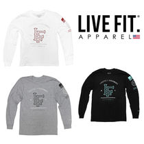 Live Fit(リブフィット) トレーナー 【関税込み】Live Fit(LVFT)California Long Sleeve 3カラー