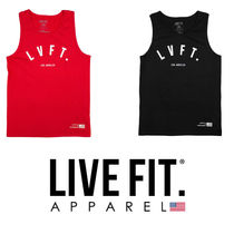 Live Fit(リブフィット) タンクトップ 【関税,送料込み】Live Fit(LVFT)Los Angeles Tank 2カラー