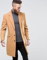 ASOS(エイソス) アウターその他 ◆ASOS◆Wool Mix Overcoat In Camel◆関送込/アウター◆