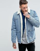 ASOS(エイソス) アウターその他 ◆ASOS◆Fully Borg Lined Denim Jacket in ◆関送込/アウター◆