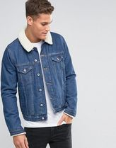 ASOS(エイソス) アウターその他 ◆ASOS◆Denim Jacket With Borg Collar in ◆関送込/アウター◆