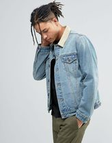 ASOS(エイソス) アウターその他 ◆ASOS◆Slim Fit Denim Jacket With Contra◆関送込/アウター◆