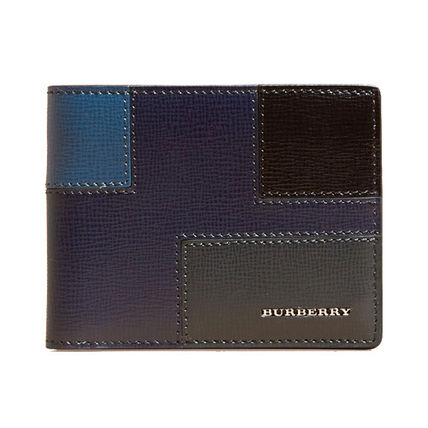 BURBERRY colorblock folding wallet 4022576