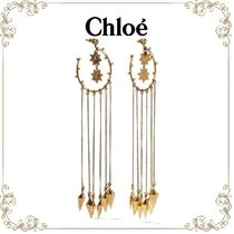 【MUSE12月号掲載】★Chloe★gold-tone earrings