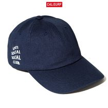 ANTISOCIAL CLUB WEIRD CAP navy