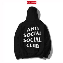 Mサイズ ANTISOCIAL CLUB Mind Games Hoodie/BLACK