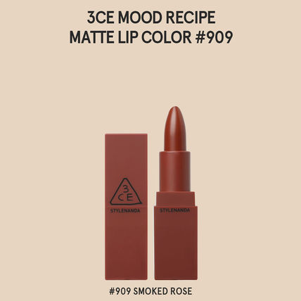 3 CONCEPT EYES リップグロス・口紅 3CE MOOD RECIPE  MATTE LIP COLOR-#114/#115/#116/#117/#909(11)