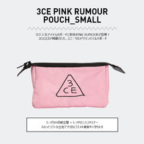 3 CONCEPT EYES(スリーコンセプトアイズ) ポーチ 3CE PINK RUMOUR POUCH_SMALL