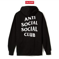 Sサイズ ANTISOCIAL CLUB Mind Games Zip Up Hoodie/BLACK