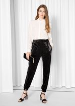 & Other Stories(アンドアザーストーリーズ) パンツ 日本未入荷☆& Other Stories☆Velvet Track Trousers