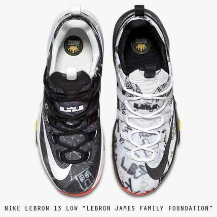 "NIKE LEBRON 13 LOW ""JAMES FAMILY FOUNDATION"" 落書き"