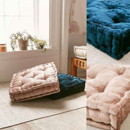 New UO * velvet floor cushions