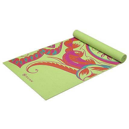 (ガイアム)Gaiam Print Yoga Mat,Vibrant Paisley 3mm