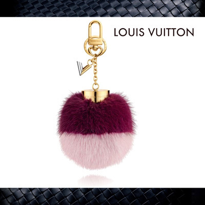【Louis Vuitton】ヴィトン★Bubble Duo Bag Charmキーチャーム