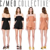 【C/MEO COLLECTIVE】在庫わずか!NEED NOBODY PLAYSUIT(全2色)