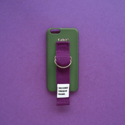 SECOND UNIQUE NAME スマホケース・テックアクセサリー ◆SECOND UNIQUE NAME◆SUN CASE DEEP GREEN PURPLE (2)
