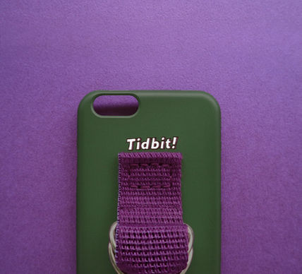 SECOND UNIQUE NAME スマホケース・テックアクセサリー ◆SECOND UNIQUE NAME◆SUN CASE DEEP GREEN PURPLE (3)