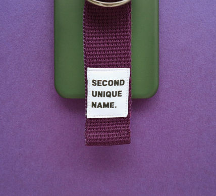 SECOND UNIQUE NAME スマホケース・テックアクセサリー ◆SECOND UNIQUE NAME◆SUN CASE DEEP GREEN PURPLE (4)