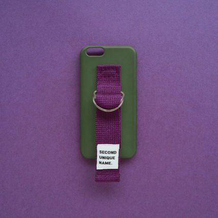 SECOND UNIQUE NAME スマホケース・テックアクセサリー ◆SECOND UNIQUE NAME◆SUN CASE DEEP GREEN PURPLE (6)