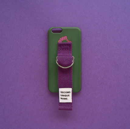 SECOND UNIQUE NAME スマホケース・テックアクセサリー ◆SECOND UNIQUE NAME◆SUN CASE DEEP GREEN PURPLE (7)