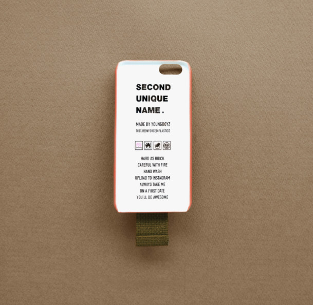 ◆SECOND UNIQUE NAME◆SUN CASE BURGUNDY KHAKI IPHONE7 / Plus