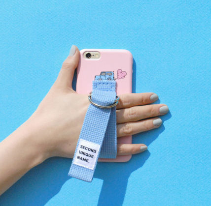 SECOND UNIQUE NAME スマホケース・テックアクセサリー ◆SECOND UNIQUE NAME◆SUN CASE LIGHT PINK LIGHT BLUE (10)