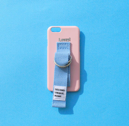 SECOND UNIQUE NAME スマホケース・テックアクセサリー ◆SECOND UNIQUE NAME◆SUN CASE LIGHT PINK LIGHT BLUE (2)
