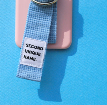 SECOND UNIQUE NAME スマホケース・テックアクセサリー ◆SECOND UNIQUE NAME◆SUN CASE LIGHT PINK LIGHT BLUE (5)