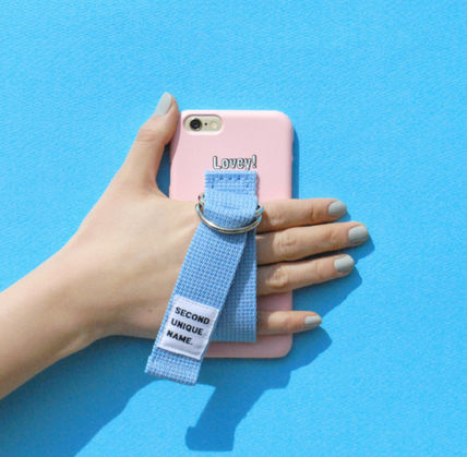 SECOND UNIQUE NAME スマホケース・テックアクセサリー ◆SECOND UNIQUE NAME◆SUN CASE LIGHT PINK LIGHT BLUE (6)
