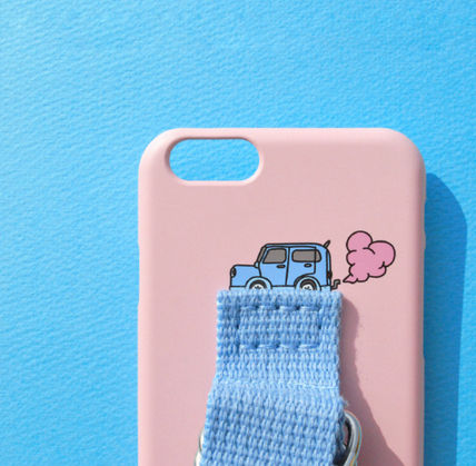 SECOND UNIQUE NAME スマホケース・テックアクセサリー ◆SECOND UNIQUE NAME◆SUN CASE LIGHT PINK LIGHT BLUE (9)