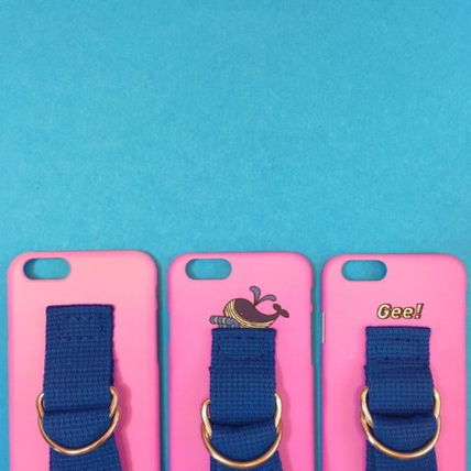 SECOND UNIQUE NAME スマホケース・テックアクセサリー ◆SECOND UNIQUE NAME◆SUN CASE PINK BLUE