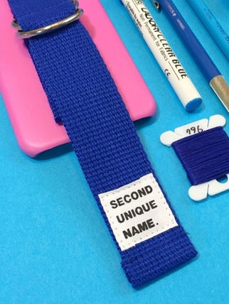 SECOND UNIQUE NAME スマホケース・テックアクセサリー ◆SECOND UNIQUE NAME◆SUN CASE PINK BLUE (5)