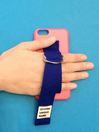 SECOND UNIQUE NAME スマホケース・テックアクセサリー ◆SECOND UNIQUE NAME◆SUN CASE PINK BLUE (8)