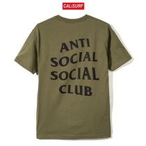 Sサイズ ANTISOCIAL CLUB Club Tee 2 /Military Green
