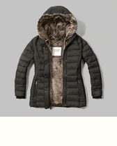 完売品  	 Faux-Fur Lined Puffer Jacket