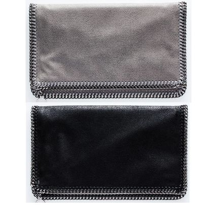 Stella McCartney FalabellaFold Over clutch 2 color