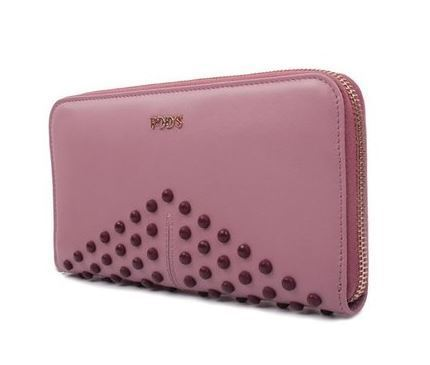 【関税負担】 TOD'S ZIP AROUND WALLET