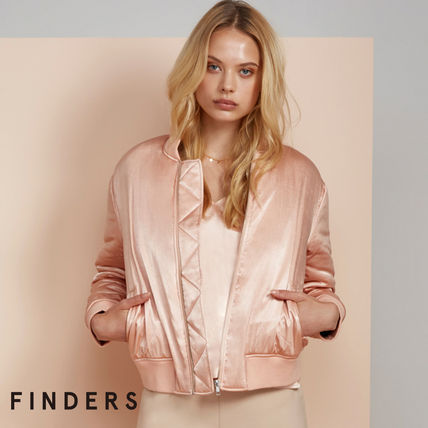 Finders Keepers ブルゾン 【FINDERS】★MA-1ジャケットピンク★関送料込☆国内即発!!