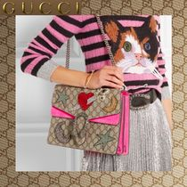 ☆16-17AW新作 GUCCI  Dionysus Embellished Shoulder Bag