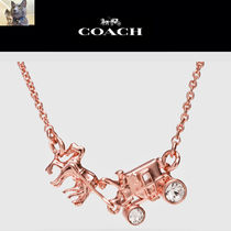 【Coach】PAVE horse and carriage ネックレス (No.90822)
