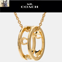 【Coach】PAVE coach リング ネックレス(No. 90918)