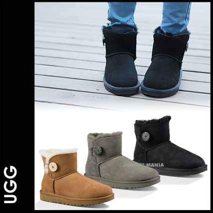 新作★即発【UGG】女性用//MINI BAILEY Button II