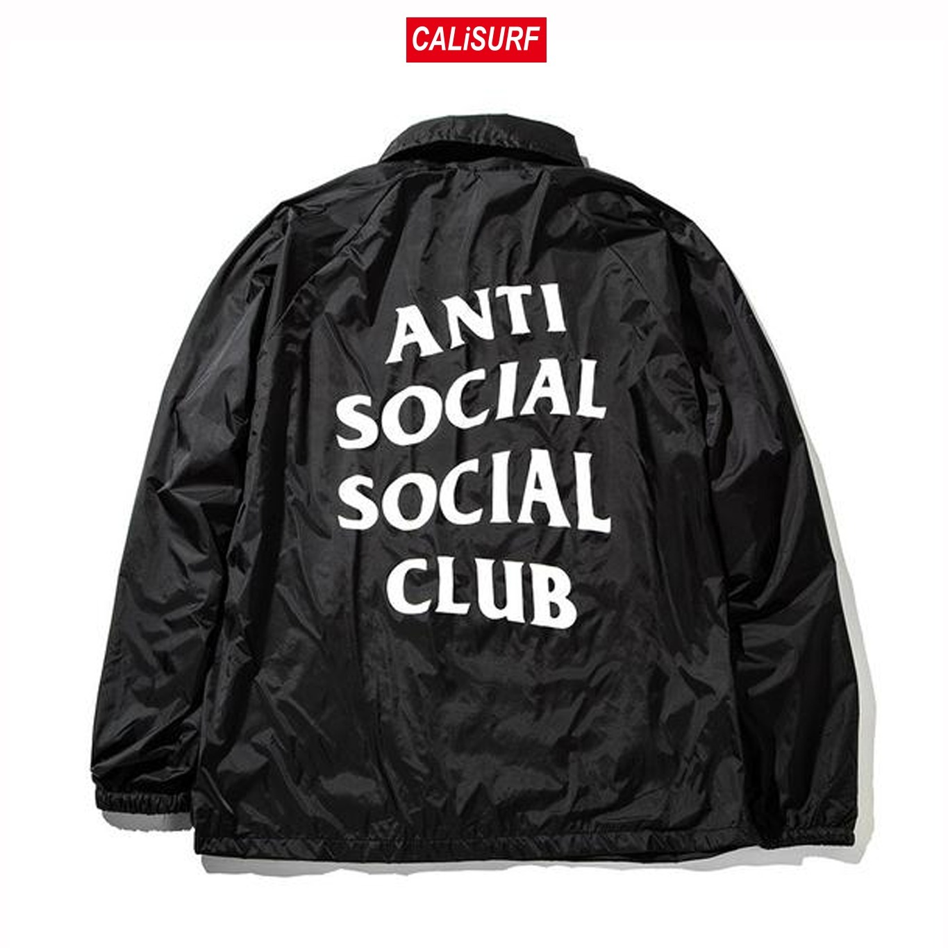 Mサイズ ANTISOCIAL CLUB Never gonna give you up/BLACK
