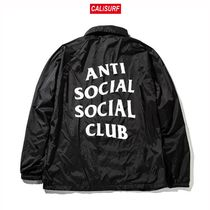 Sサイズ ANTISOCIAL CLUB Never gonna give you up/BLACK